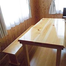 自社加工オリジナル家具